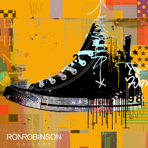 CONVERSE yellow <br /> by Mark Andrew Allen