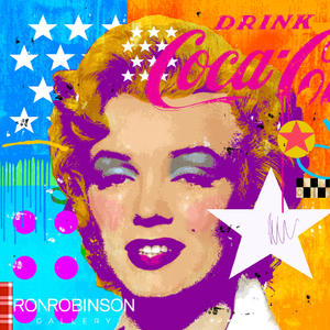 MARILYN STAR SMILES <br /> by Mark Andrew Allen
