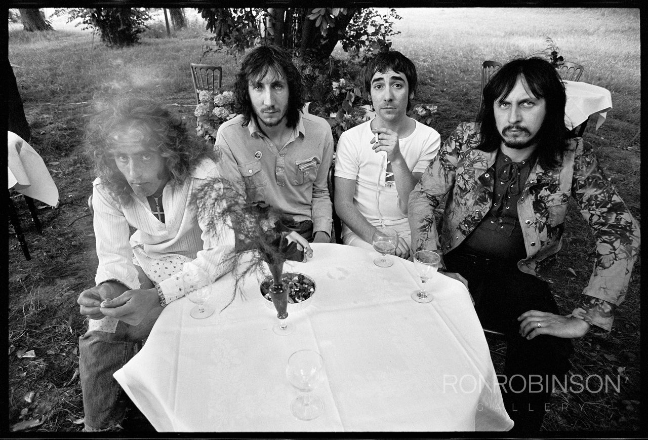 The Who, Keith Moon's House, 1971 by Alec Byrne