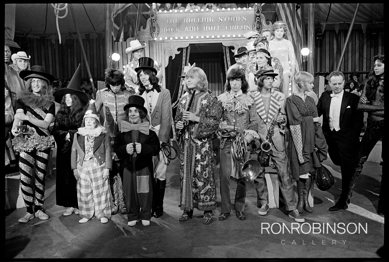 Rock and Roll Circus, Dec. 1968 by Alec Byrne