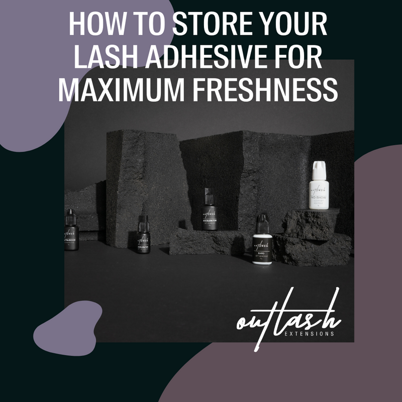 Part Five: How to Store Your Lash Adhesive for Maximum Freshness
