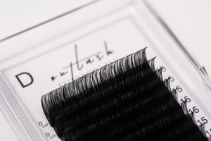 Ultra-Light Cashmere Lashes - D Curl