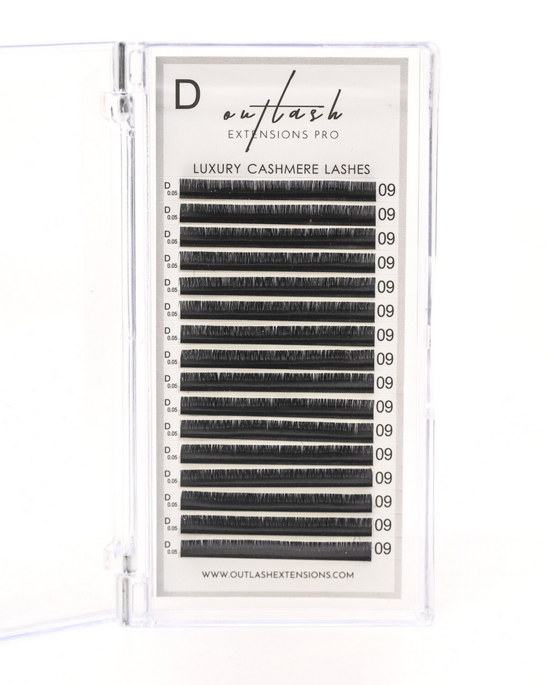 Ultra-Light Cashmere Mixed Lashes - D Curl