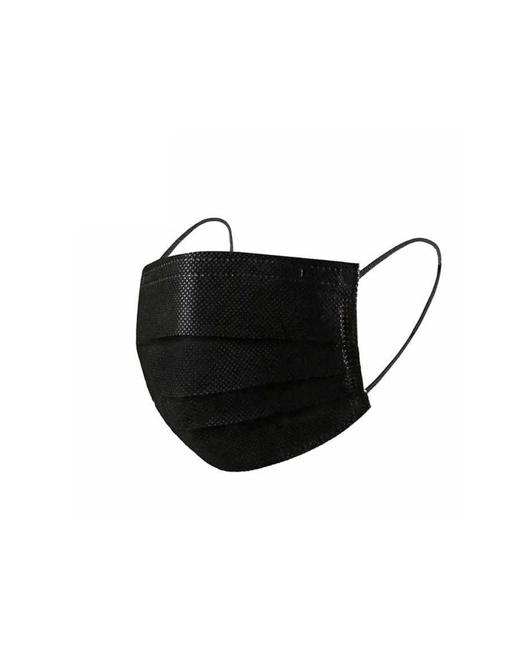 Black Disposable Face Mask