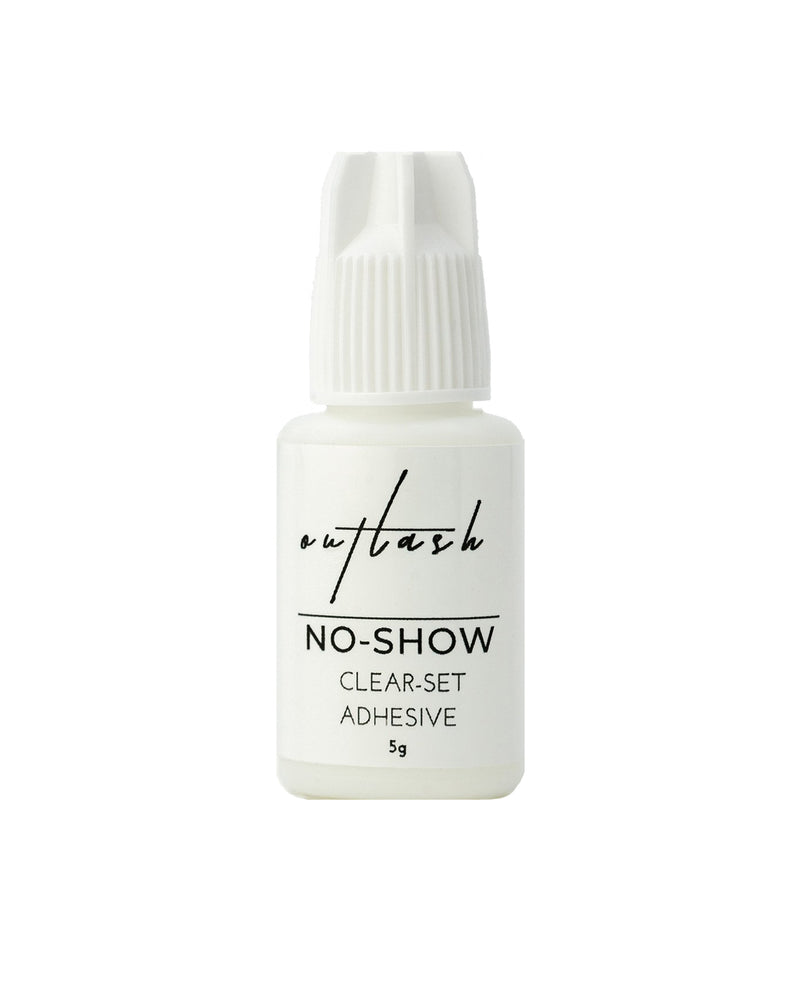 No-Show Clear Set Adhesive