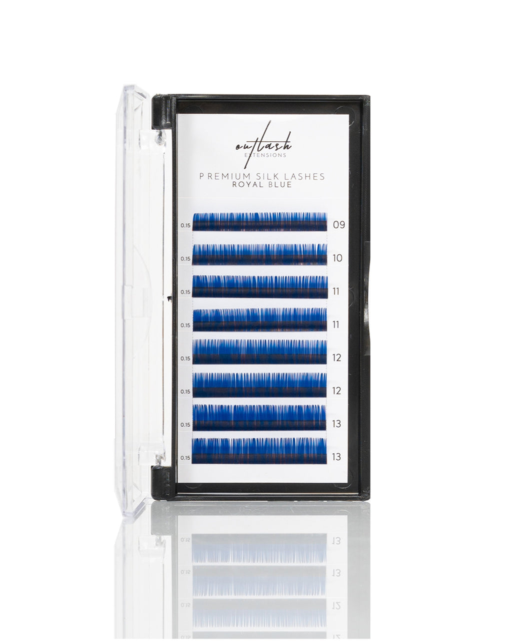 Coloured Lashes - Royal Blue
