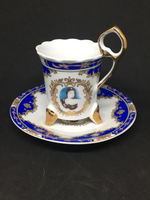 Hand Painted German Demitasse