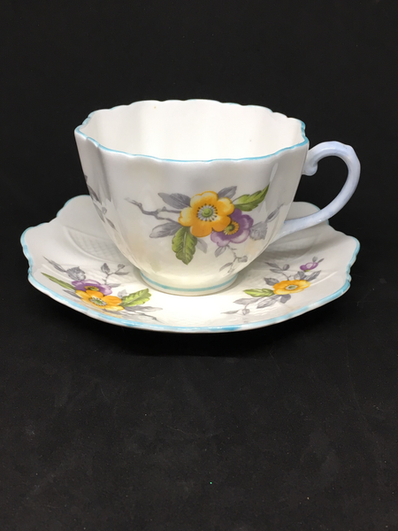 Paragon Lace Edged Tea Cup