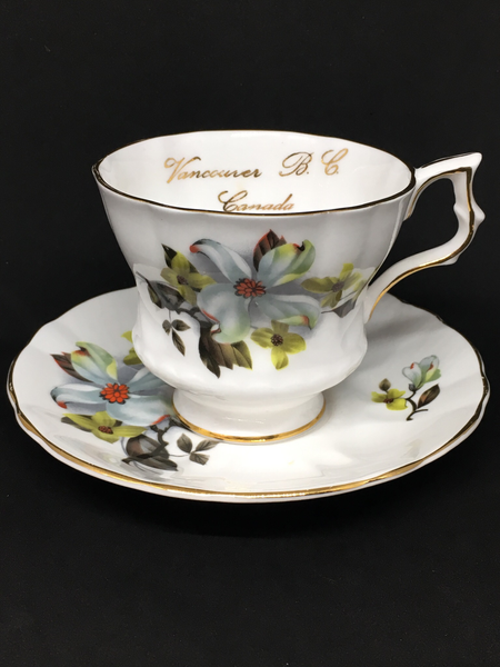 Royal Gregg Dogwood Vancouver Tea Cup