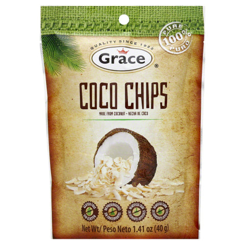 GRACE CARIBBEAN: Chips Coconut, 40 gm - SaveSpacex