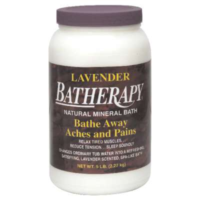 QUEEN HELENE: Lavender Batherapy Mineral Bath Salts, 5 lb - SaveSpacex