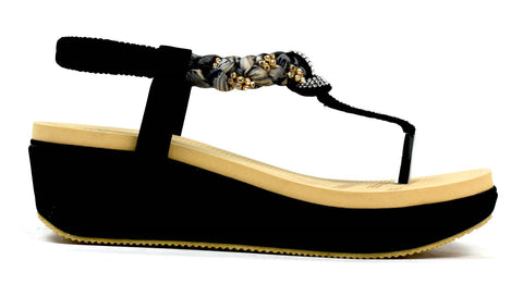 Comfort & Colour Wedge Black