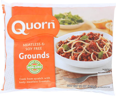 QUORN: Meatless And Soy Free Grounds, 12 oz - SaveSpacex