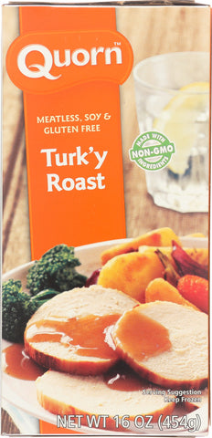 QUORN: Meatless & Soy Free Turk'y Roast, 16 oz - SaveSpacex