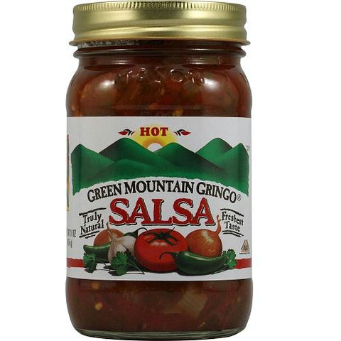 Green Mountain Hot Salsa (12x16 Oz)