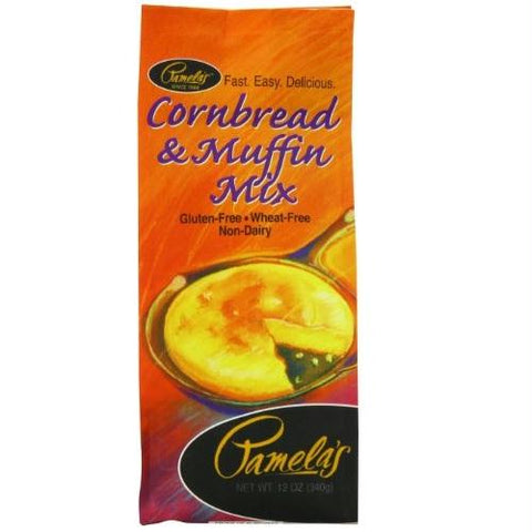 Pamela's Products Corn Bread & Muffin Mix ( 6x12 Oz)