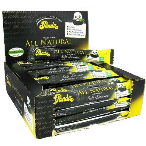 Panda Natural Licorice Bar (36x1.125 Oz)