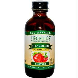 Frontier Herb Strawberry Flavor A-f (1x2 Oz)