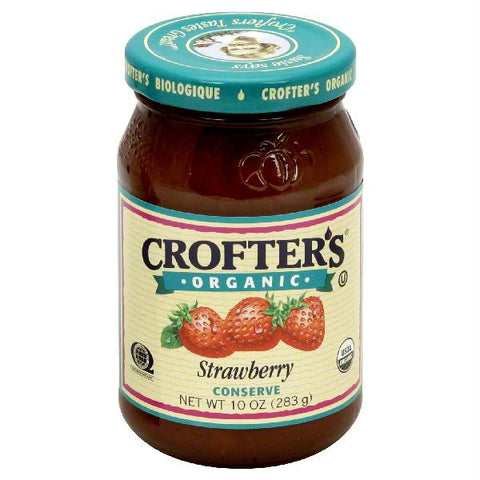 Crofters Strawberry Conserves (6x16.5 Oz)