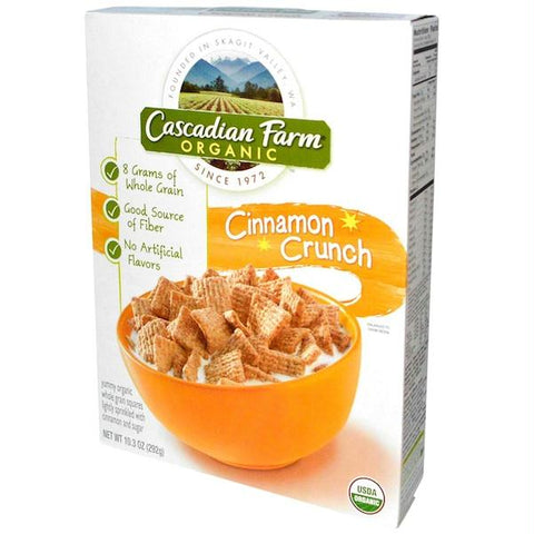 Cascadian Farm Cinn Crunch Cereal (10x9.2oz )