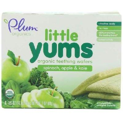 Plum Organics Yum Spin Apple (6x6 Ct)