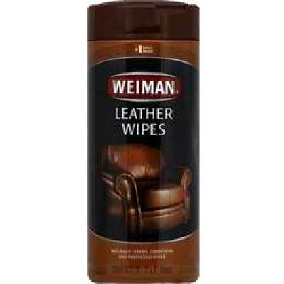 Weiman Leather Wipes (4x30 Ct)