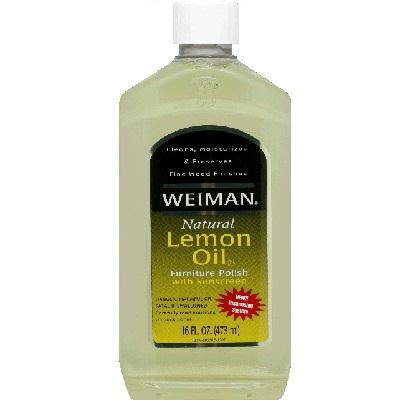 Weiman Lem Oil W-sunscreen (6x16oz )