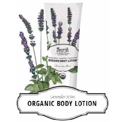 Nourish Body Lotion Lavendar Mnt (1x8OZ )