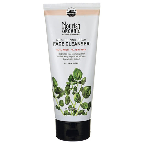 Nourish Face Cleanser Cream, Cucumber/Watercress (1x6 OZ)