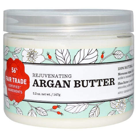 Nourish Organic Rejuvenating Argan Butter  (1x5.2 OZ)