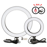 Photography LED Selfie Ring Light 16/26cm three