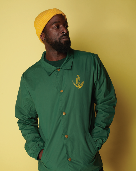 COACH WINDBREAKER - Forest Green