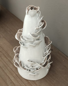 "Albero di Natale ""White on White"" - Be Art Bottega Artigiana"