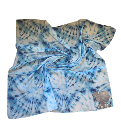 T.U.K. Ocean Blue Tie Dye (cotton)