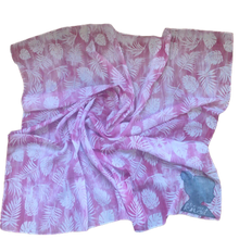 Load image into Gallery viewer, T.U.K. Pink Floral Tie Dye (cotton)