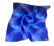 Load image into Gallery viewer, T.U.K. Vibrant Blue Tie Dye (cotton)