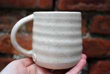 Load image into Gallery viewer, Tall Ripple Flecked Mug