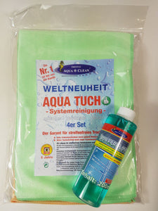 Aqua Clean Aqua Tuch 4er Set + Zauberglanz 200ml