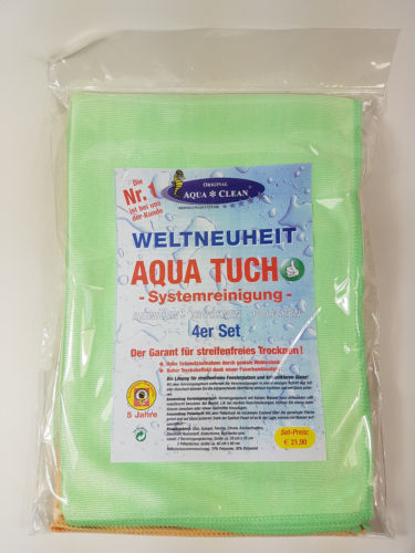 Aqua Clean Aqua Tuch 4er Set