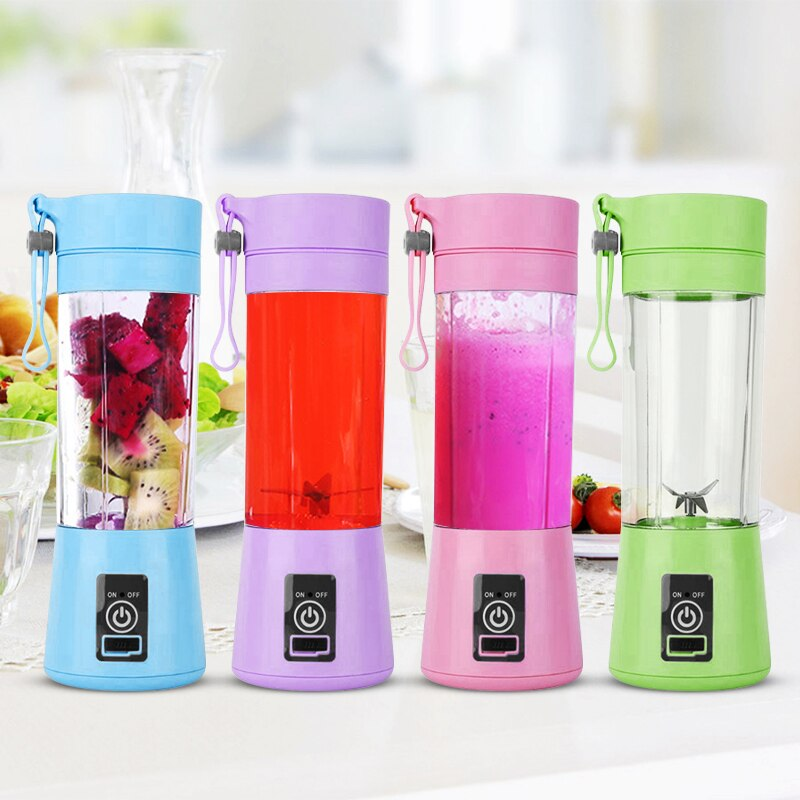 Portable Smoothie Blender - With Rechargeable USB