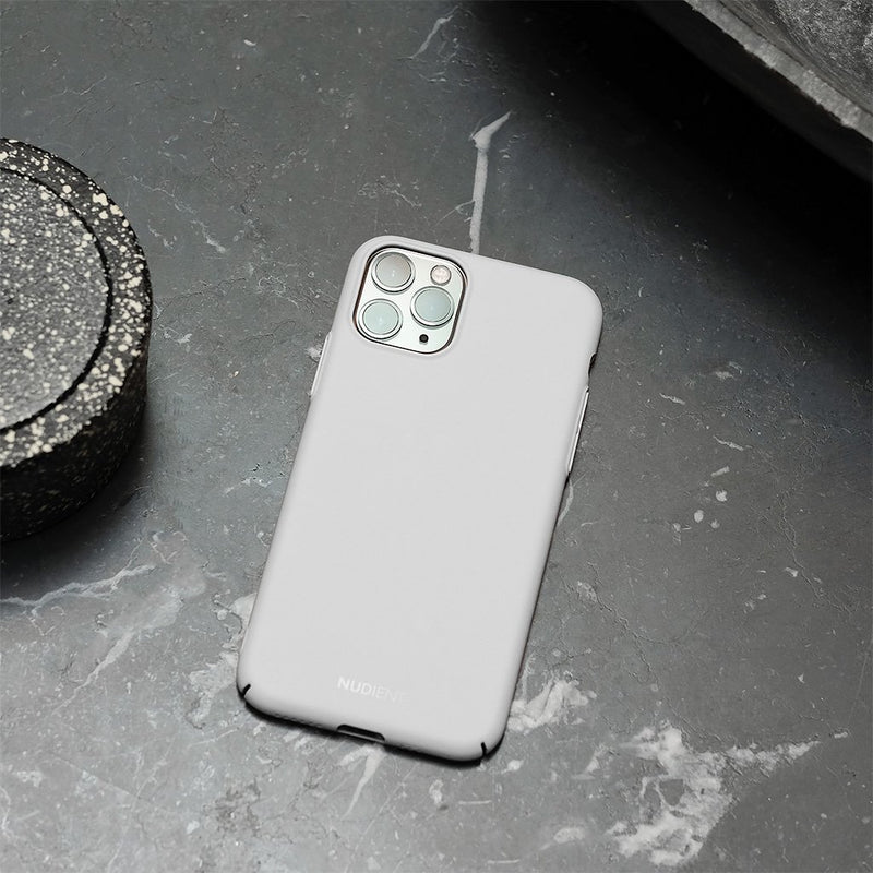 "Dünne iPhone 11 Pro Max 6,5"" Hülle V2 - Pearl Grey"