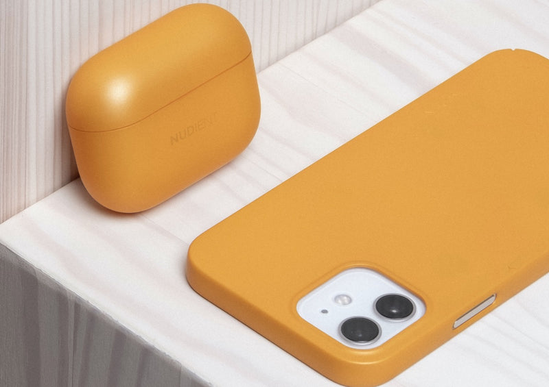 Nudient - AirPods Pro Hülle - Saffron Yellow