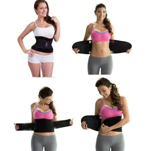 Dual-Compression Waist Shape Instant Slimming Belt for Woman and Girl's