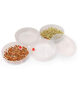 Figment Sprout Maker | Plastic Sprout Maker Box | Hygienic Sprout Maker with 3 Container | Organic Home Making Fresh Sprouts Beans for Living Healthy Life Sprout Maker 3 Bowl