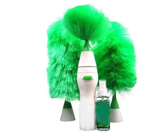 Go Dust Electric Feather Spin Motorised Cleaning Brush Set