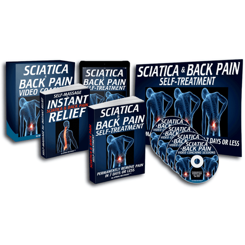 Back Pain & Sciatica Relief Kit
