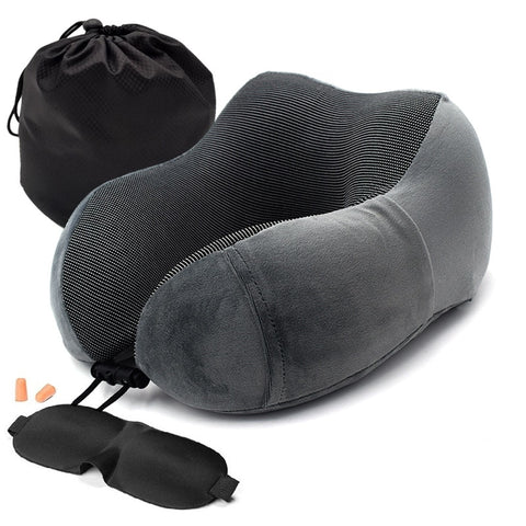 Soft Slow Rebound Space Travel Pillow
