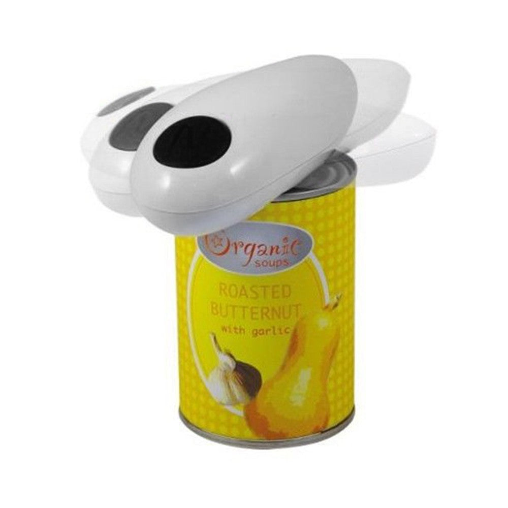 One Touch Automatic Electric Tin Can Opener (No Hands Needed Battery Operated)