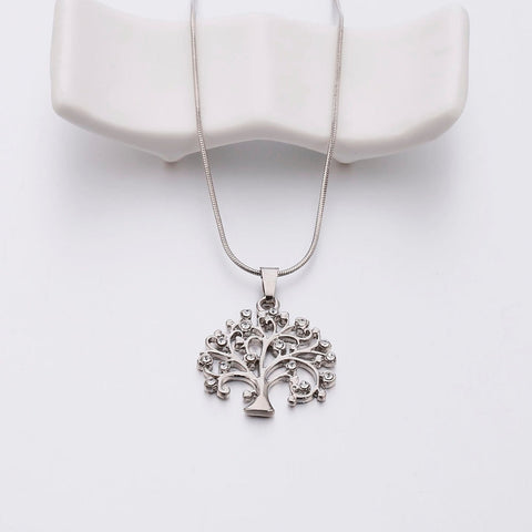 Image of Gold Tree Of Life Necklace for Women