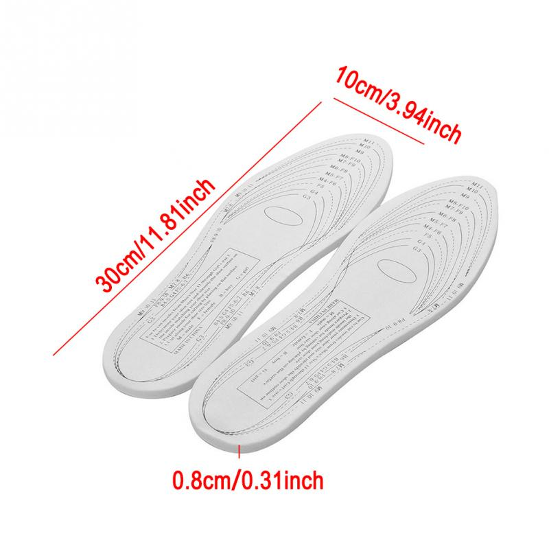 Memory Foam Insoles (Made with Real NASA Grade Temper Foam)
